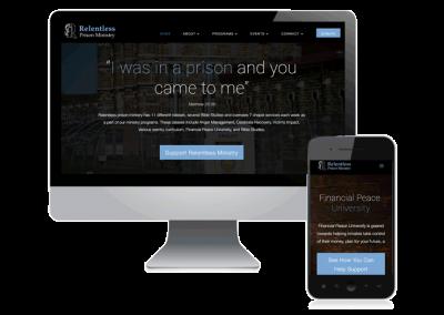 Relentless Prison Ministry